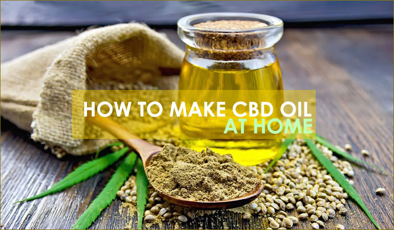 cbd oil at home