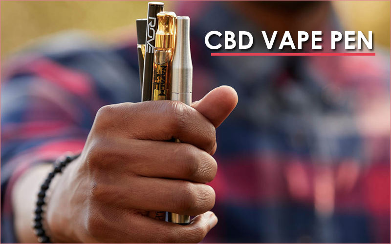 how to vape CBD pen