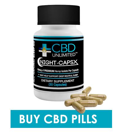 Best CBD Pills for Sleep