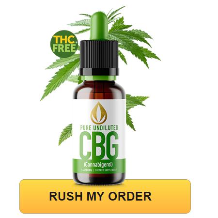 100% Pure CBG Hemp Oil Drops