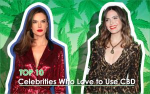 Celebrities Who Love to Use CBD