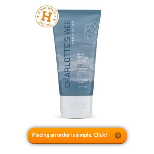 Charlotte's Web Hemp-Infused Cream with CBD