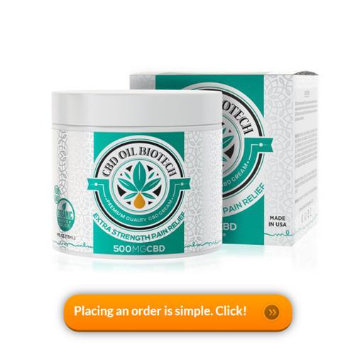 Diamond CBD Oil Biotech Cream